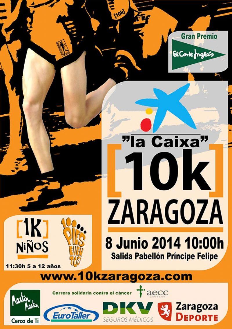 «La Caixa 10k Zaragoza» se retransmitirá en directo