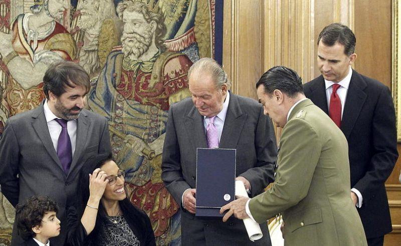 Teresa Perales recibe la Gran Cruz del Mérito Deportivo