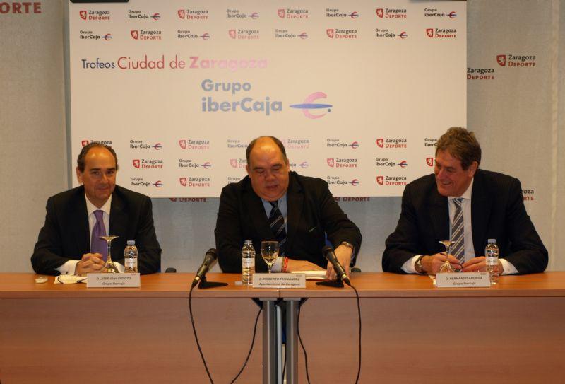 Los Trofeos «Grupo Ibercaja-Ciudad de Zaragoza» incluyen para este año la celebración de 25 pruebas deportivas