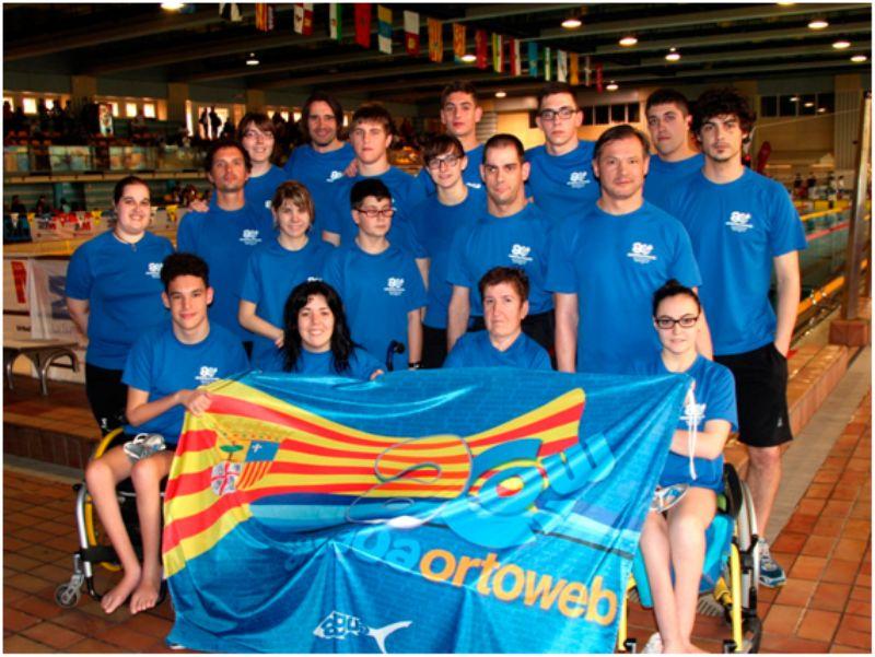 Participación de ARAGUA en el Campeonato de España de Natación Adaptada