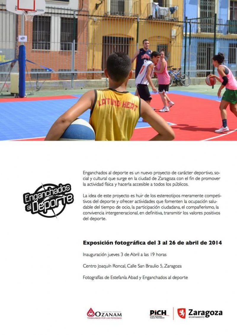 Exposición fotográfica «Enganchados al Deporte»