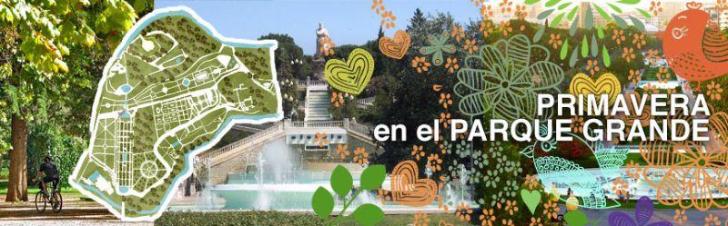 El parque Grande «José Antonio Labordeta» inicia su intenso programa de actividades de primavera 2014
