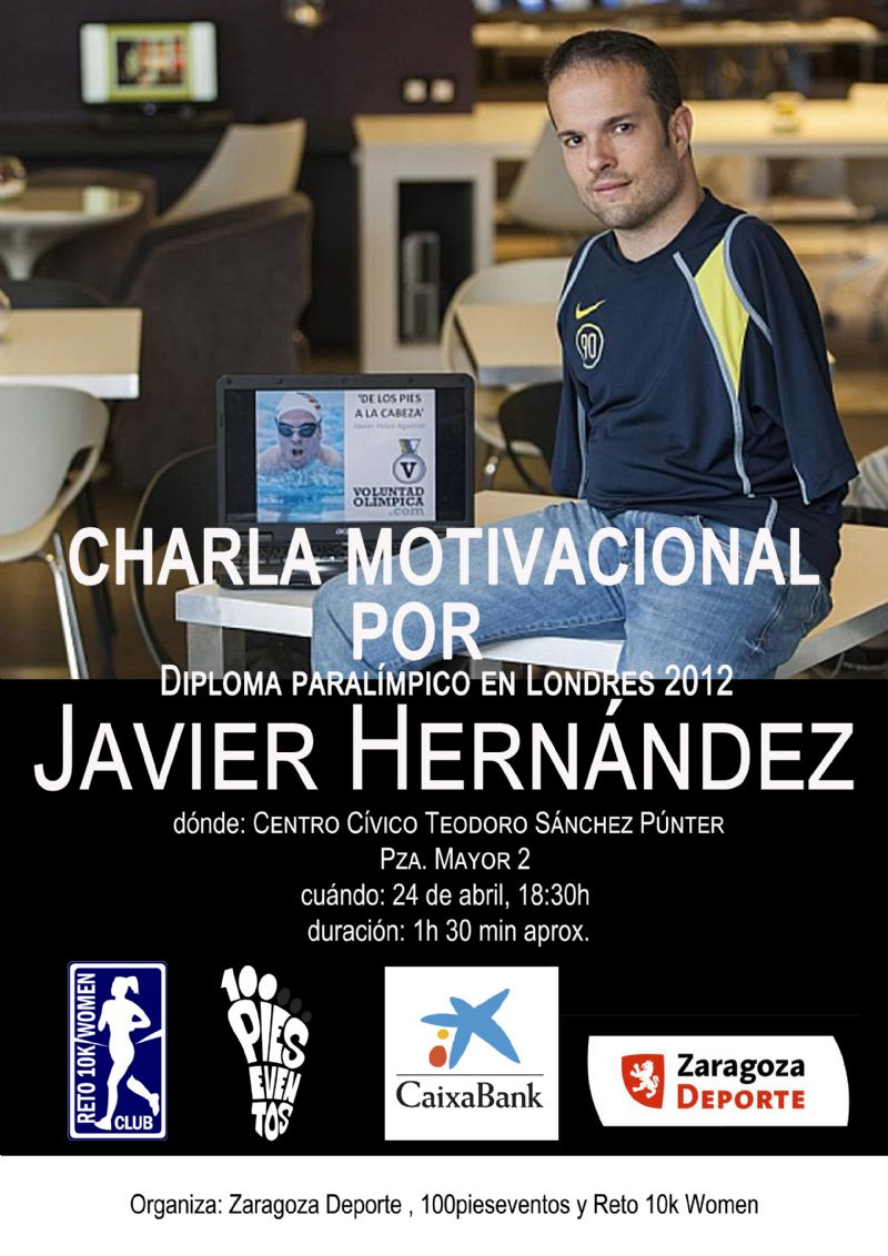 Conferencia Motivacional con el paralímpico Javier Hernández