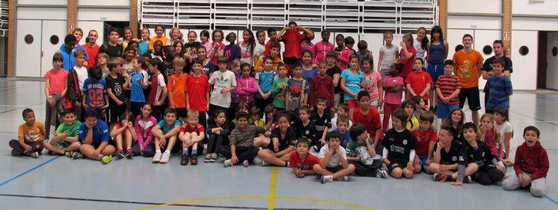 Éxito del Campus de Iniciación al Balonmano del BM Colores