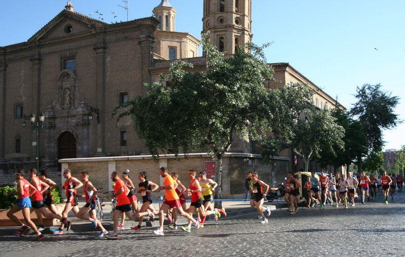 Última semana para inscribirse a la Media Maratón Trofeo «Grupo Ibercaja-Ciudad de Zaragoza»