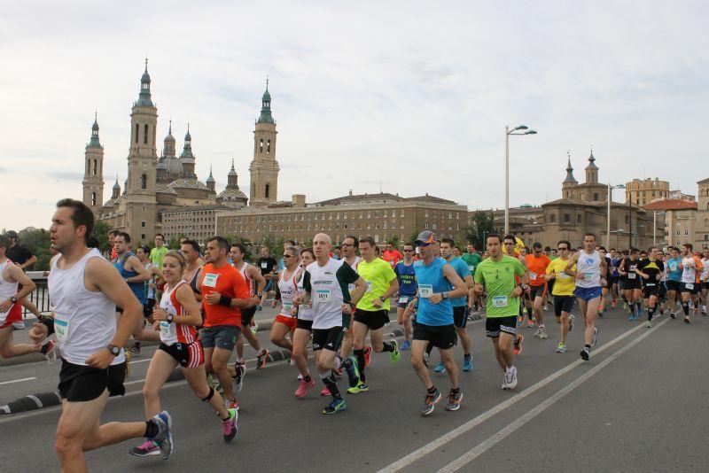 La  XVII edición del Medio Maratón  «Grupo Ibercaja- Ciudad de Zaragoza», una gran fiesta ciudadana