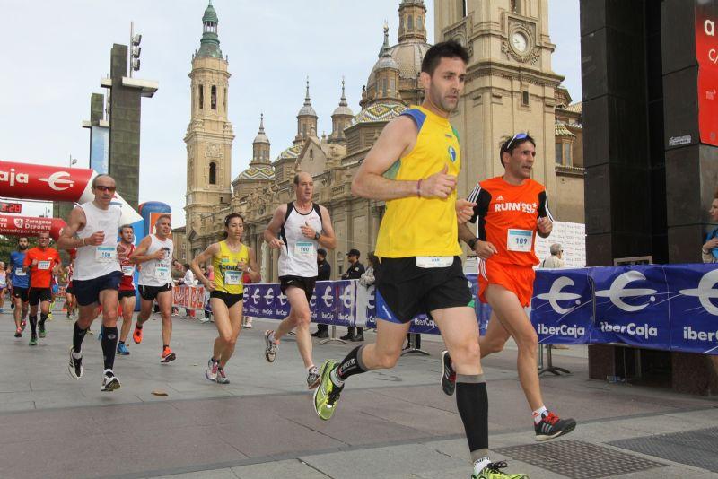 Ya están disponibles las clasificaciones, vídeos, fotografías y diplomas de la XVII Media Maratón «Trofeo Grupo Ibercaja-Ciudad de Zaragoza 2014»