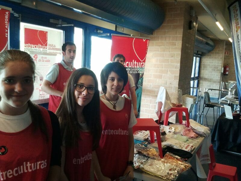 Entreculturas estuvo presente en la Media Maratón de Zaragoza