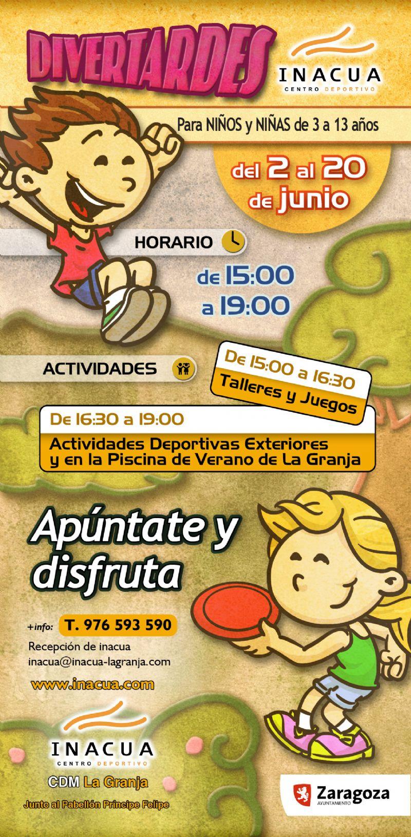 «Divertardes» en CDM La Granja Inacua