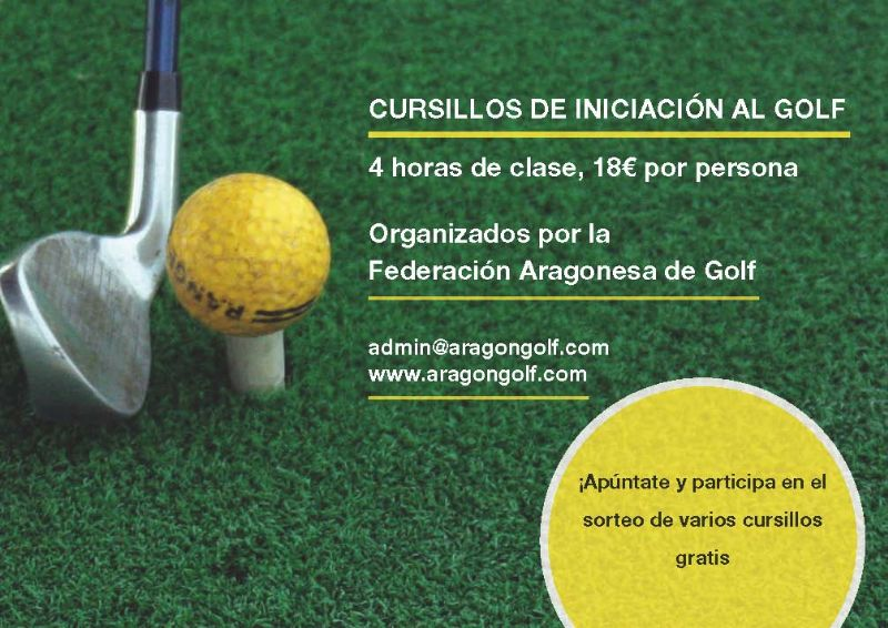 Cursillos de iniciación al golf