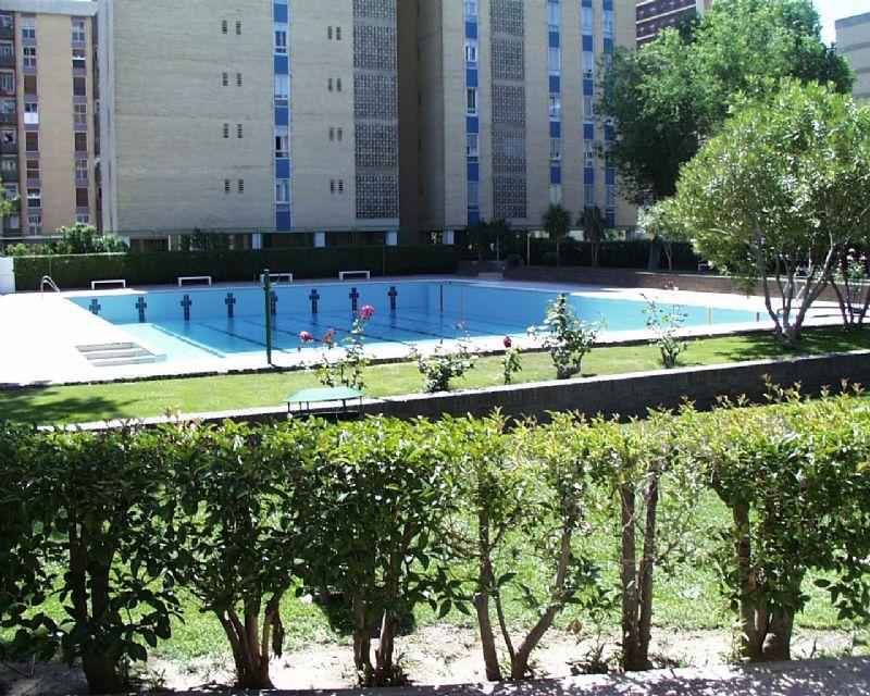 La piscina de verano del Palacio de Deportes adelanta su apertura al lunes 2 de junio