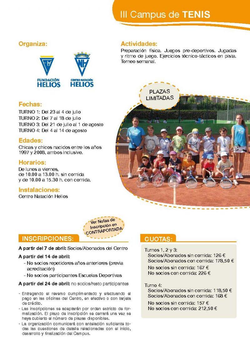 III Campus de Tenis C.N. Helios