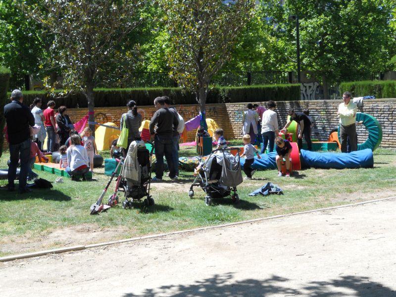 Éxito del primer fin de semana de «Parque, Espacio Deportivo Saludable»