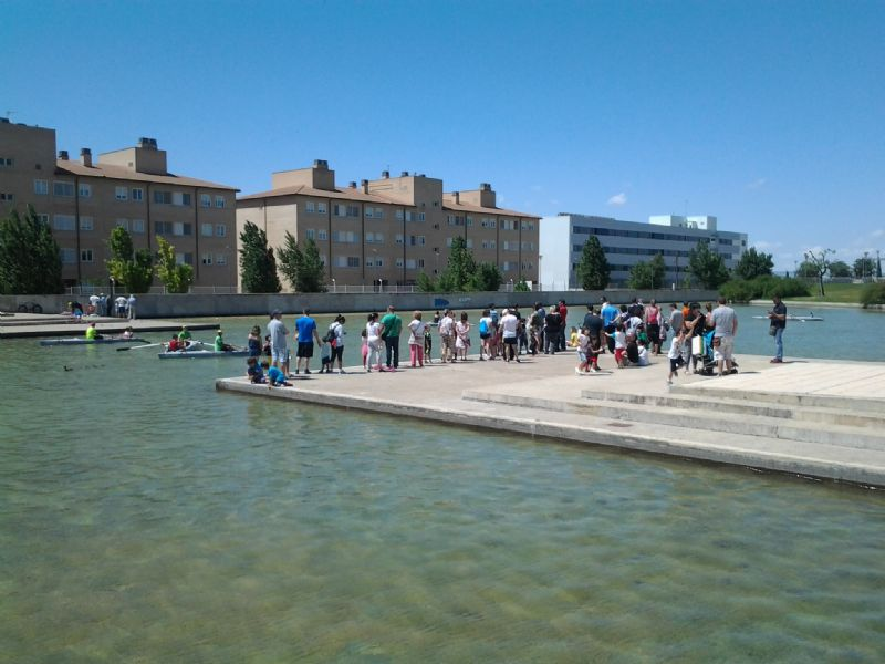 Balance positivo del programa «Parque Espacio Deportivo y Saludable» celebrado en varios parques de Zaragoza