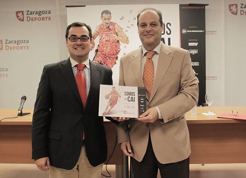 El CAI Zaragoza presenta su Campaña de Abonados 2014-2015
