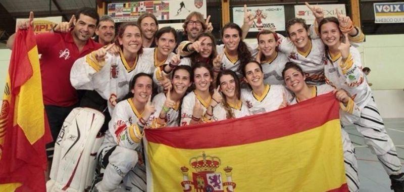 España se proclama Campeona del Mundo de Hockey Línea en Junior Femenino