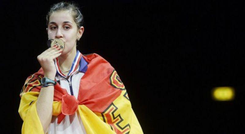Carolina Marín hace historia y se proclama campeona del mundo de bádminton