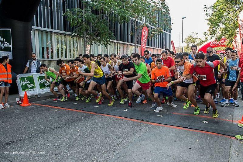 Más de 1.000 corredores participaron en la II Carrera Popular 4K Martín Martín. G. P. Fiestas de San José