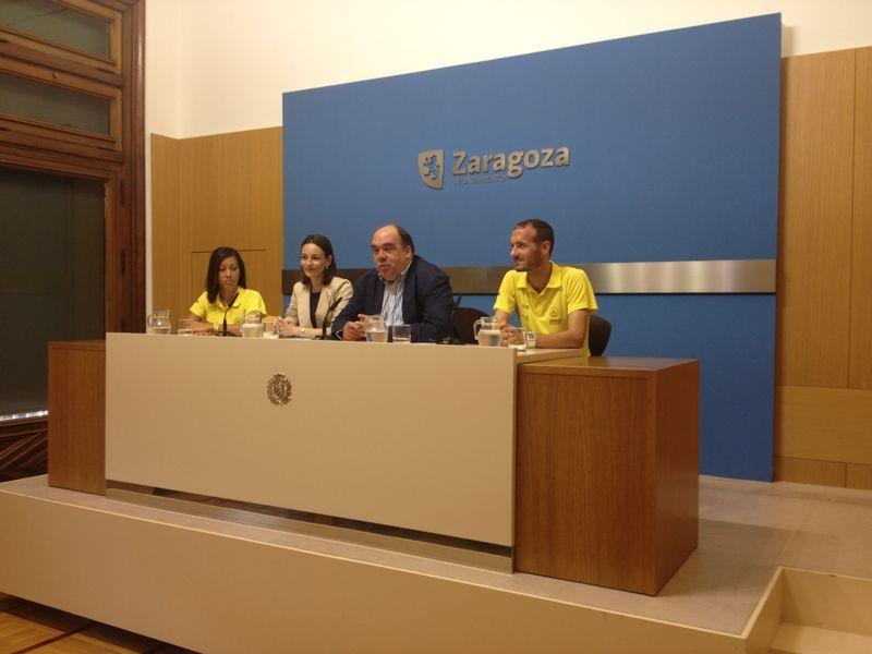 Presentada la XXXI Milla Urbana de Delicias Trofeo «Grupo Ibercaja-Ciudad de Zaragoza». Gran Premio El Corte Inglés.