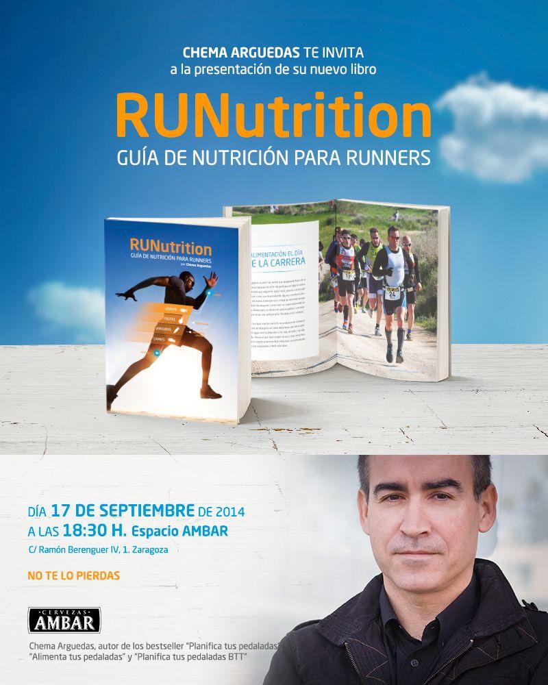 Presentación del nuevo libro para runners, RUNutrition