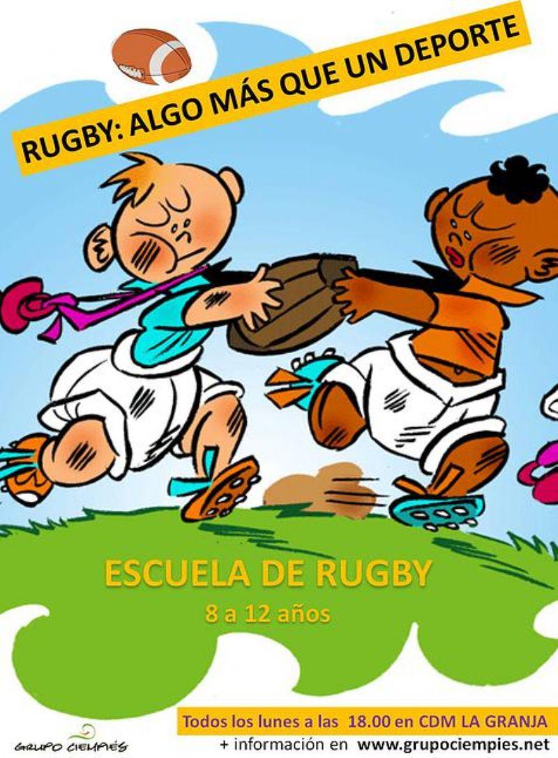 Escuela de Rugby, de Atletismo y «Proyecto TODOS» del Grupo Ciempiés