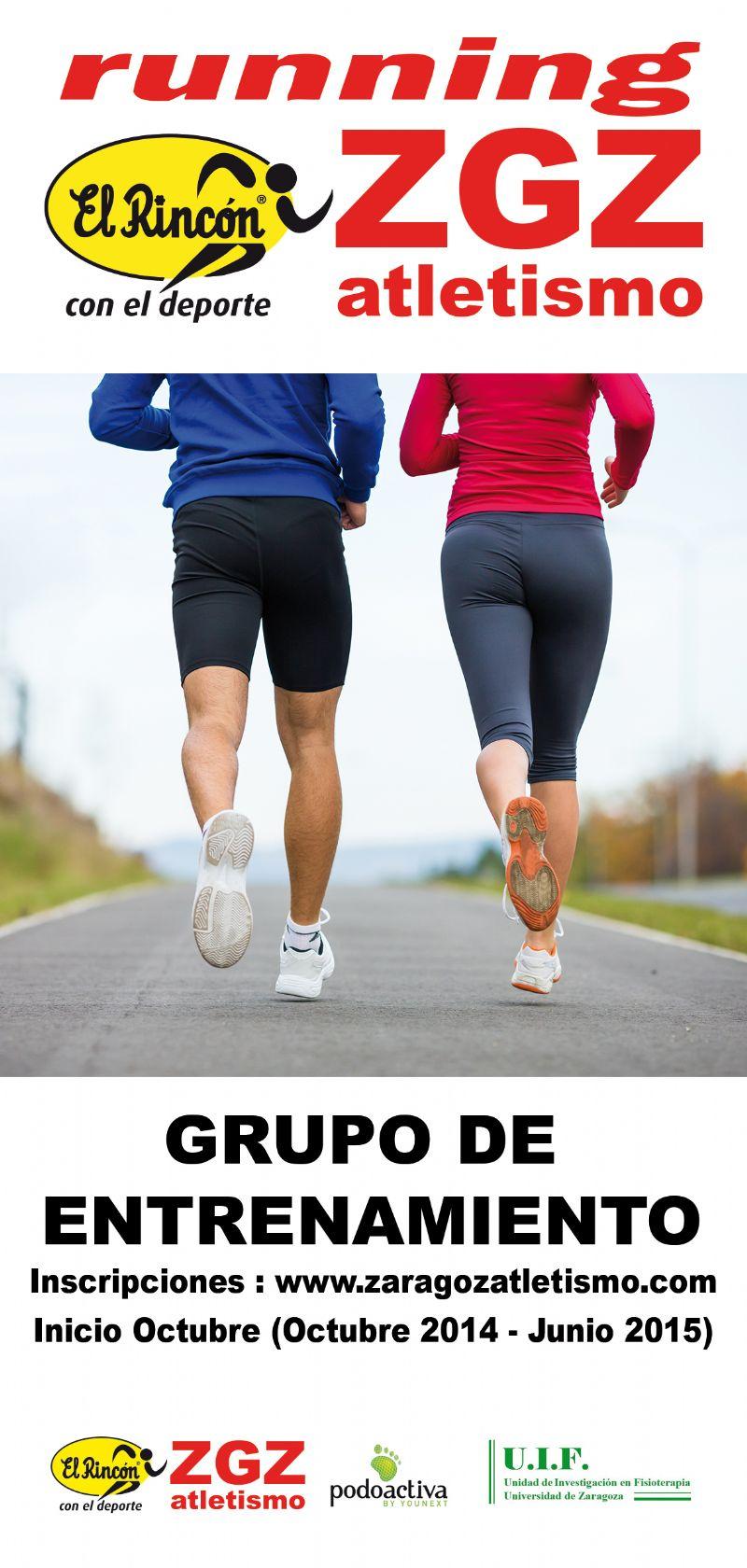 Escuela de Running El Rincón - Zaragoza Atletismo