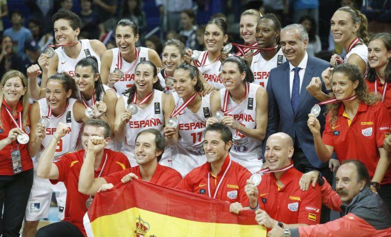 España, plata en el mundial de baloncesto femenino