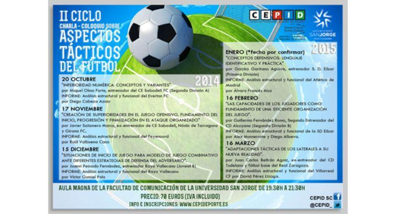 II Ciclo de charlas-coloquio sobre aspectos tácticos del fútbol
