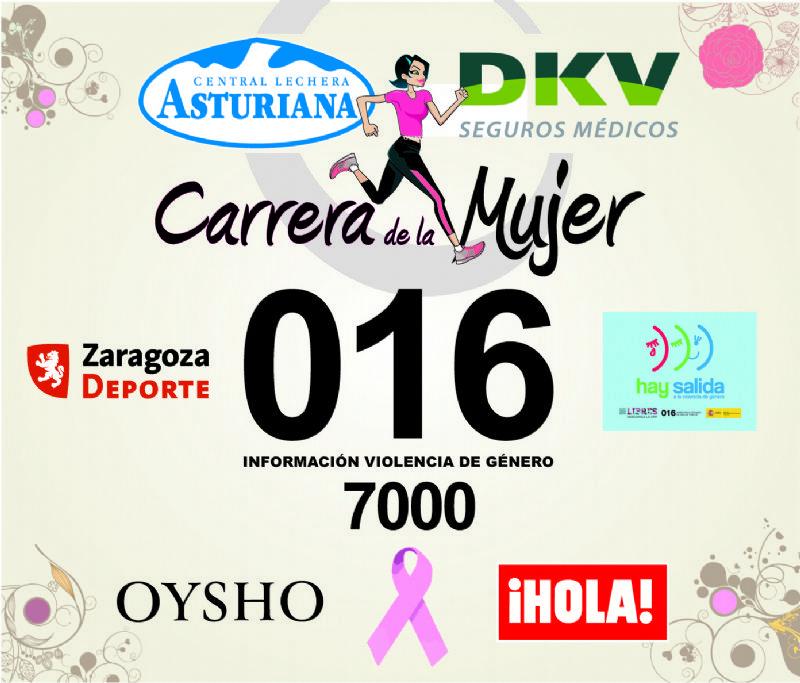 Todas las participantes de la Carrera de la Mujer lucirán el 016