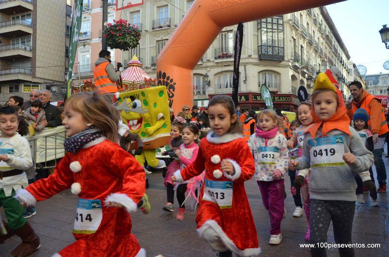 Fotos y vídeos de la III San Silvestre Zaragozana Martin Martin para niños