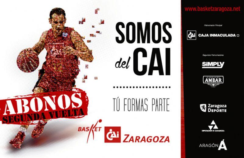 El CAI Zaragoza lanza su Campaña de Abonos para la 2ª vuelta