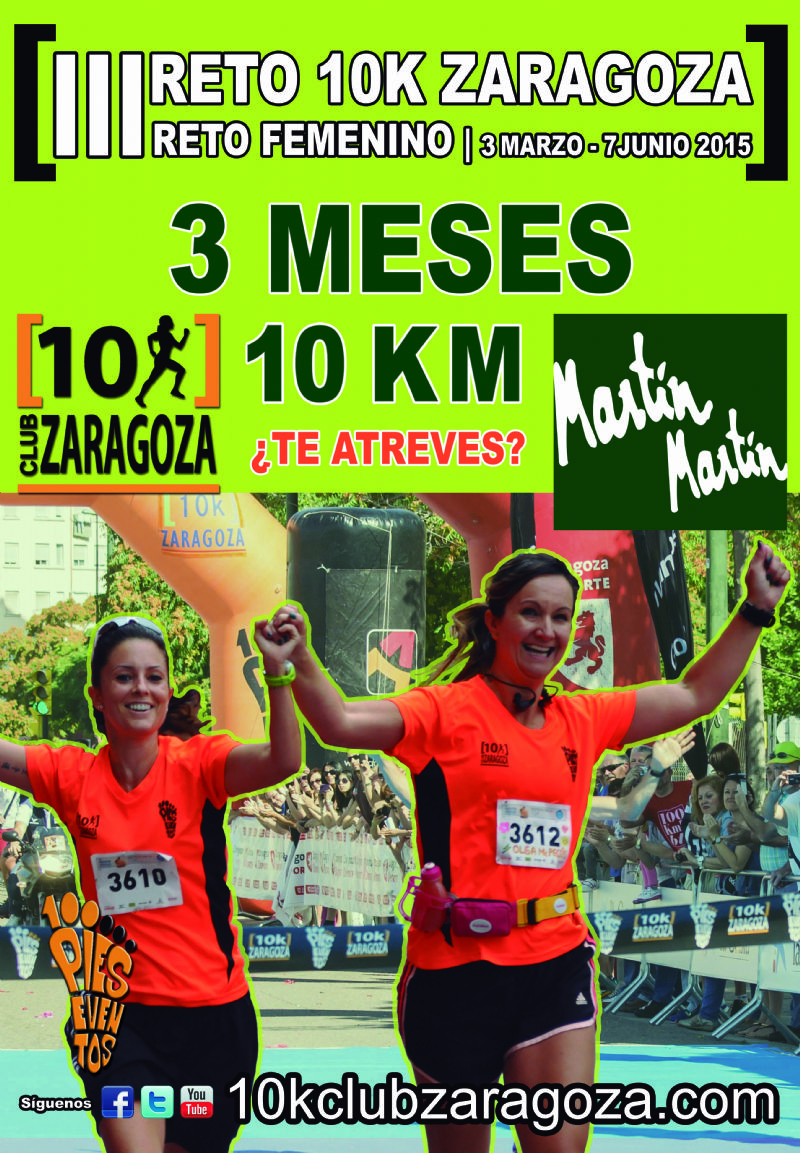 III Reto Femenino 10K Zaragoza
