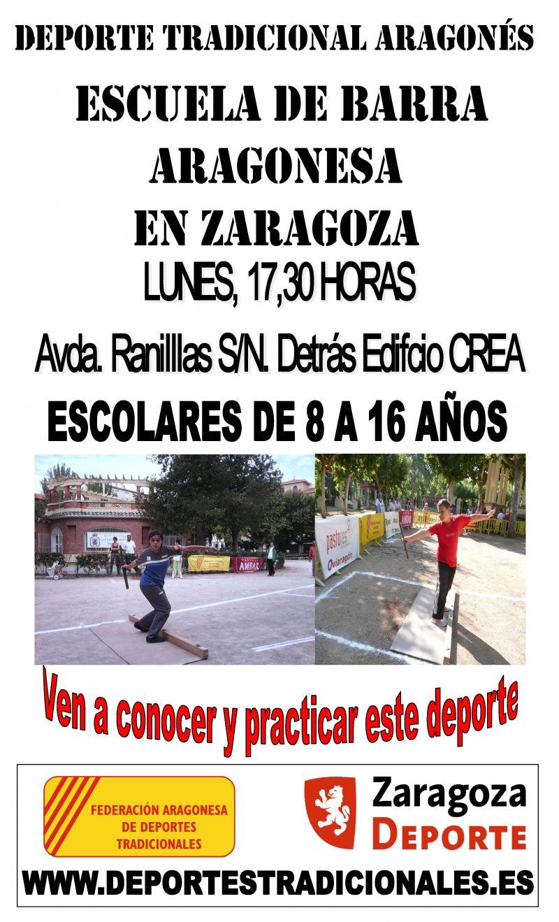 Escuela de Barra Aragonesa en Zaragoza