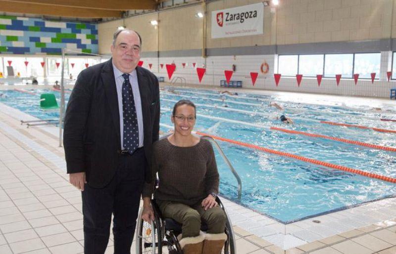Teresa Perales se preparará para Río 2016 en el CDM Siglo XXI