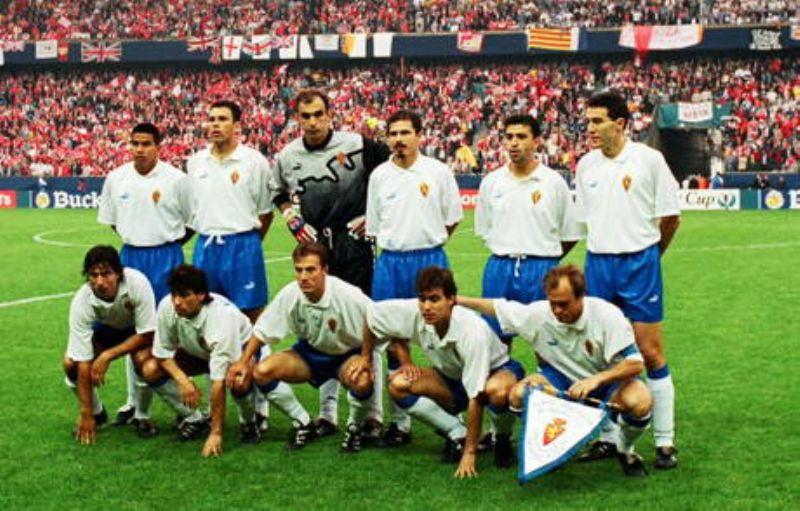 Un documental celebra el vigésimo aniversario de la Recopa del Real Zaragoza