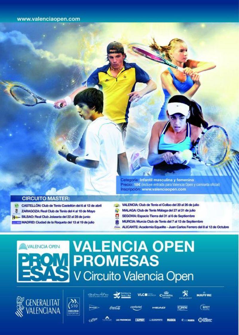 El RZCT acoge a las futuras promesas del tenis nacional