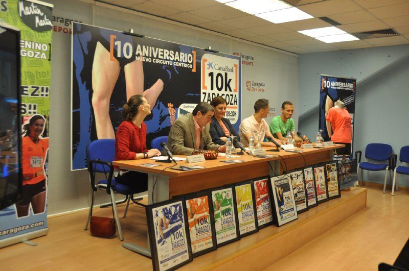 Presentada la 10k CaixaBank - Gran Premio «El Corte Inglés»
