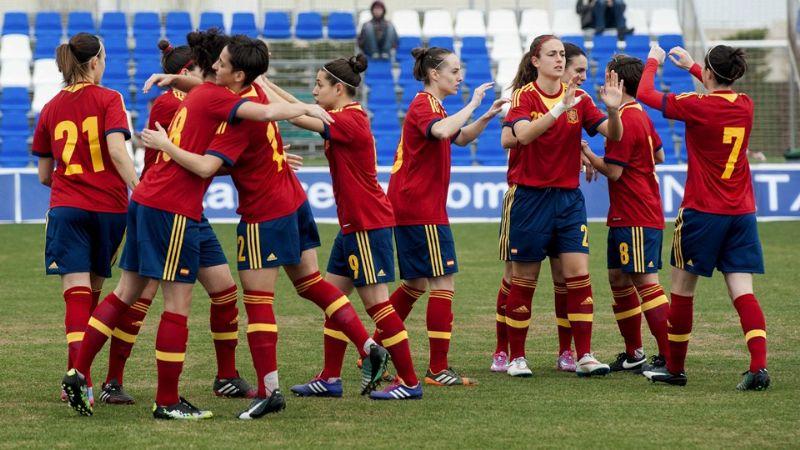 España afronta su primer Mundial de fútbol femenino con el reto de los Juegos de Río 2016