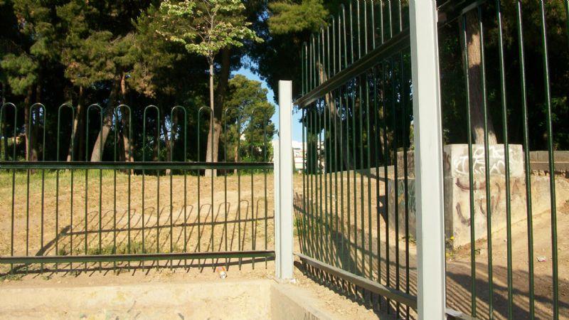La I.D.E. del Parque Delicias estrena nuevo cerramiento