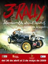 El III Rally Internacional de Clásicos Deportivos Hospederías de Aragón recorrerá la Comunidad Autónoma a finales de abril.