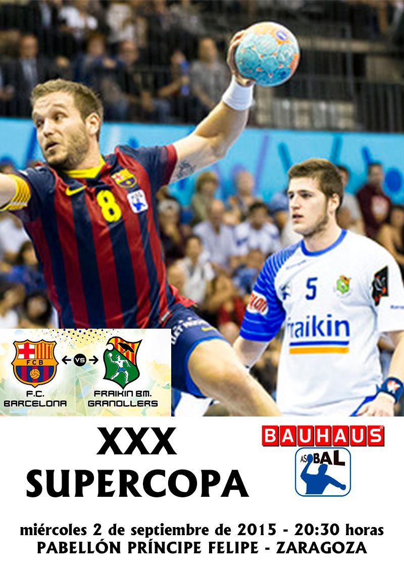 Zaragoza será la sede de la  XXX Supercopa BAUHAUS ASOBAL