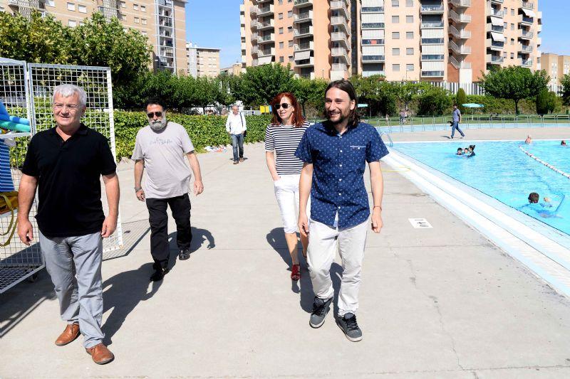 Los usos de las piscinas municipales de Zaragoza aumentan un 20% respecto al año pasado