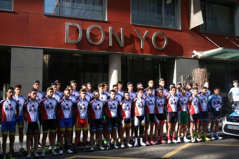 Zaragoza acoge este fin de semana el III Campus de Selección «Fundación Alberto Contador-La Mafia se sienta a la mesa»