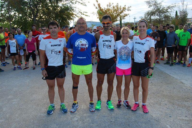 Seis expertos corredores guiarán el Maratón de Zaragoza