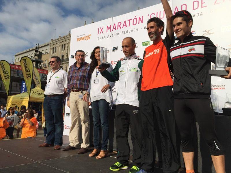 El IX Maratón «Ciudad de Zaragoza» bate récords