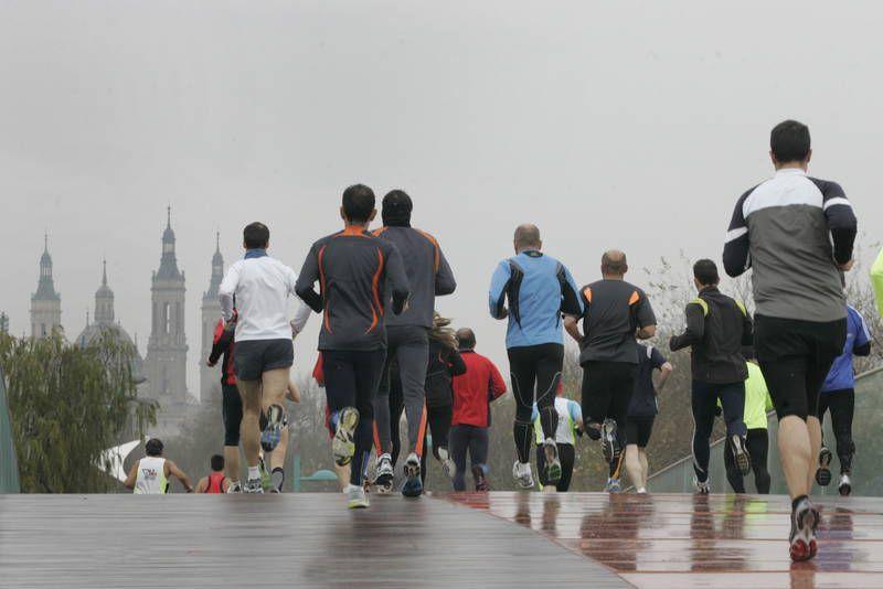 Correr con frío sin rendirse en el intento