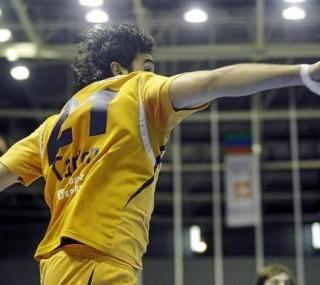 El CAI Aragón juega esta noche contra el Teucro.