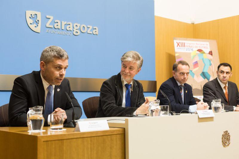 Zaragoza sera la próxima sede del XIII Congreso Nacional de Federaciones de Peñas de Fútbol