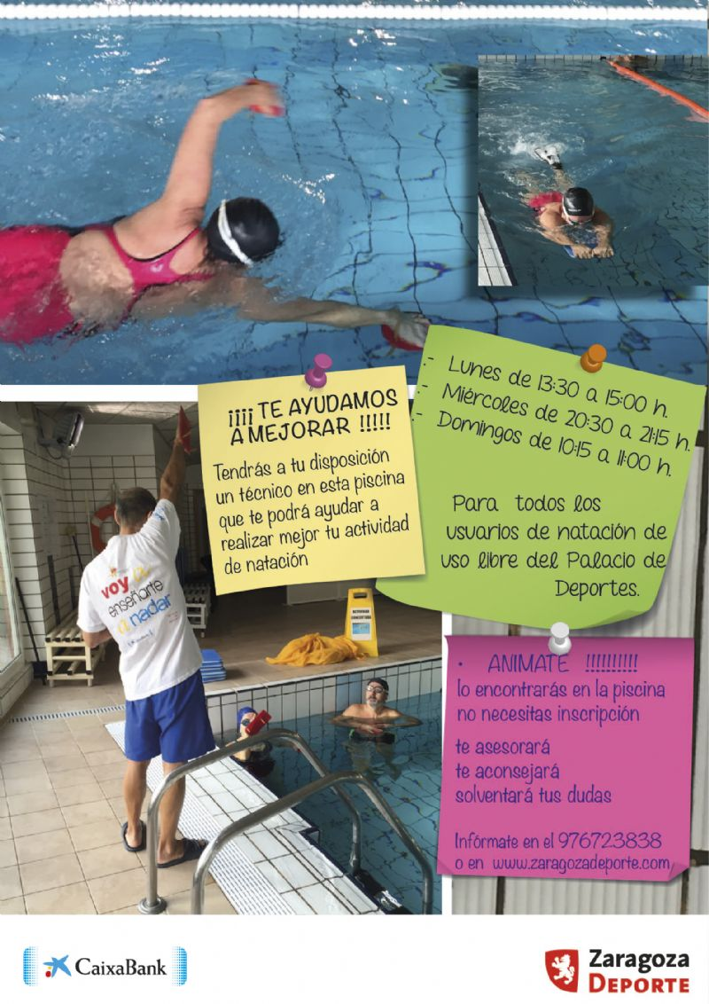¿Te gusta nadar? ¡Te ayudamos a mejorar!