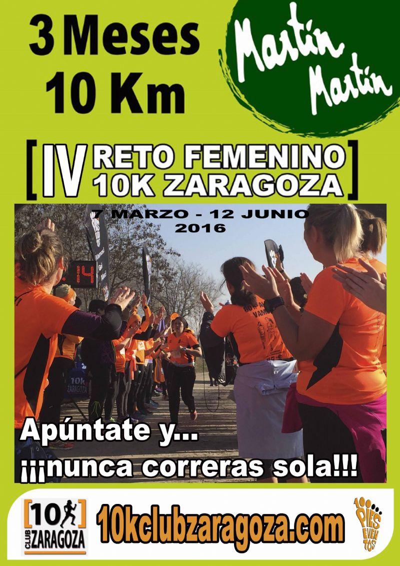 IV Reto Femenino 10K Zaragoza